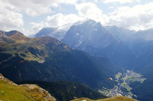 View of Val de Fassa
