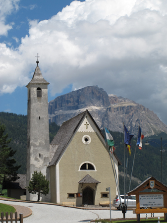 the old church in Fontanazzo
